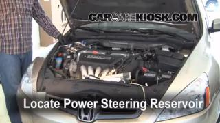 Fix Power Steering Leaks Honda Accord (2003-2007)