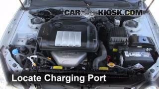 How to Add Freon in a 2002-2005 Hyundai Sonata