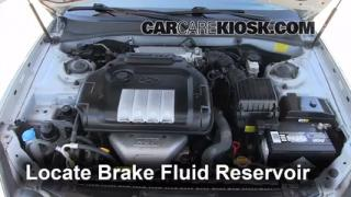 Add Brake Fluid: 2002-2005 Hyundai Sonata