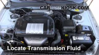 Add Transmission Fluid: 2001-2005 Hyundai XG350