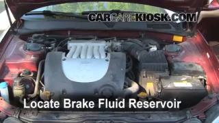 2001-2006 Kia Optima Brake Fluid Level Check