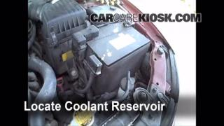 Coolant Level Check: 2001-2005 XG350