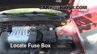 Blown Fuse Check 2001-2006 Kia Optima