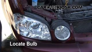 Headlight Change 2001-2006 Kia Optima