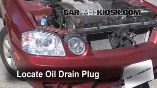 Oil & Filter Change Kia Optima (2001-2006)
