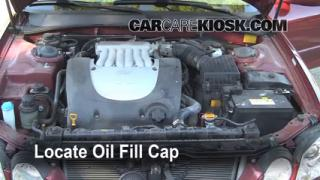 How to Add Oil Kia Optima (2001-2006)