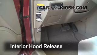 Open Hood How To 2001-2006 Kia Optima