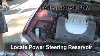 Follow These Steps to Add Power Steering Fluid to a Hyundai XG350 (2001-2005)