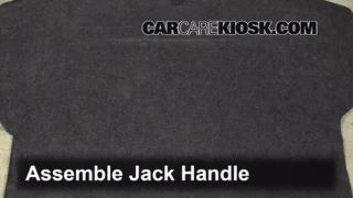 2001-2005 Kia Rio Jack Up How To
