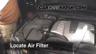 1995-2000 Lexus LS400 Engine Air Filter Check