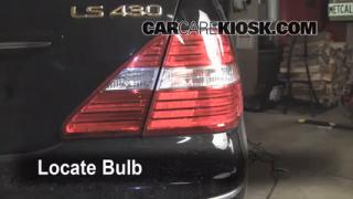 Reverse Light Replacement 2001-2006 Lexus LS430