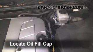 How to Add Oil Lexus LS400 (1995-2000)
