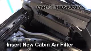 2000-2002 Lincoln LS Cabin Air Filter Check
