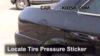 Properly Check Tire Pressure: Lincoln LS (1993-2006)