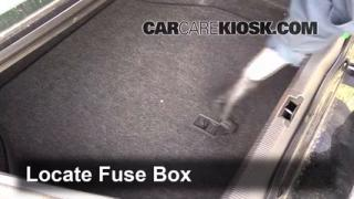 Interior Fuse Box Location: 2000-2002 Lincoln LS