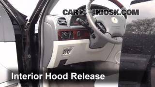 Open Hood How To 1993-2006 Lincoln LS