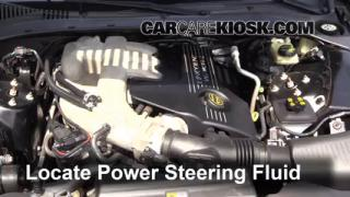 Check Power Steering Level Lincoln LS (2000-2002)