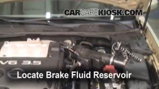 Add Brake Fluid: 2004-2008 Nissan Maxima