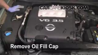 How to Add Oil Nissan Maxima (2004-2008)