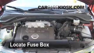 replace a fuse 2003 2007 nissan murano 2004 nissan. Black Bedroom Furniture Sets. Home Design Ideas