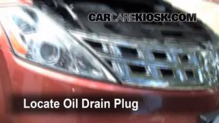 Oil & Filter Change Nissan Murano (2003-2007)
