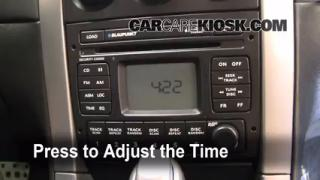 How to Set the Clock on a Pontiac GTO (2004-2006)