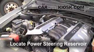 Power Steering Leak Fix: 2004-2006 Pontiac GTO