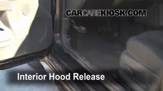 Open Hood How To 2004-2008 Pontiac Grand Prix