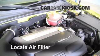 Cabin Filter Replacement: Saab 9-3 2003-2007