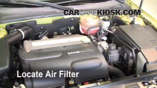Air Filter How-To: 2003-2007 Saab 9-3