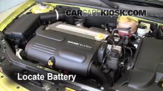 How to Clean Battery Corrosion: 2003-2007 Saab 9-3