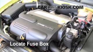 Blown Fuse Check 2003-2007 Saab 9-3