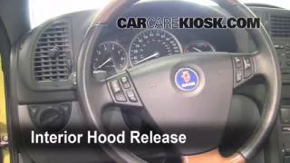 Open Hood How To 2003-2007 Saab 9-3