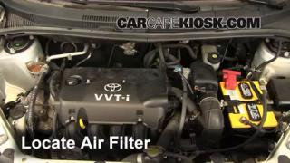 Air Filter How-To: 2004-2006 Scion xA
