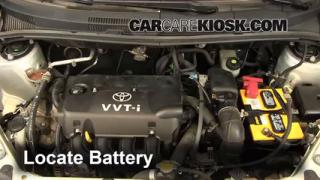 Battery Replacement: 2004-2006 Scion xA