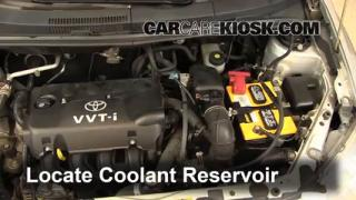 Coolant Level Check: 2004-2006 xA