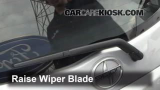 Rear Wiper Blade Change Scion xA (2004-2006)