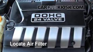 2004-2008 Suzuki Forenza Cabin Air Filter Check