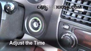 How to Set the Clock on a Suzuki Verona (2004-2006)