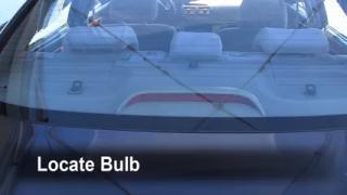 Third Brake Light Bulb Change Suzuki Verona (2004-2006)