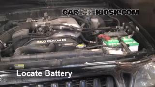 Battery Replacement: 1995-2004 Toyota Tacoma
