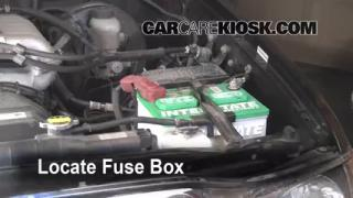 Blown Fuse Check 1995-2004 Toyota Tacoma