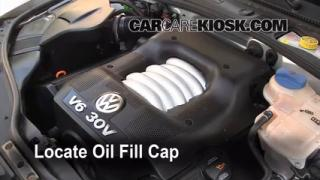 How to Add Oil Volkswagen Passat (1998-2005)