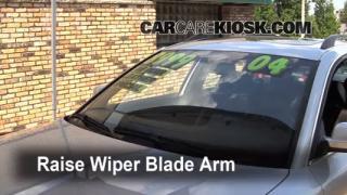Front Wiper Blade Change Volkswagen Passat (1998-2005)