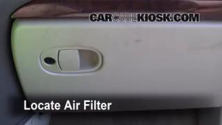 Cabin Filter Replacement: 2001-2005 Pontiac Aztek