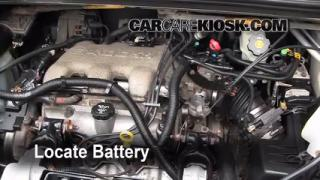 Battery Replacement: 2001-2005 Pontiac Aztek