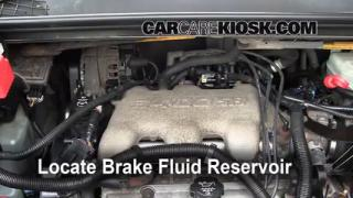 2002-2007 Buick Rendezvous Brake Fluid Level Check