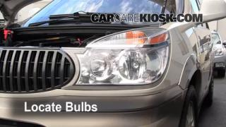 Parking Light Change 2002-2007 Buick Rendezvous