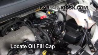 How to Add Oil Pontiac Aztek (2001-2005)