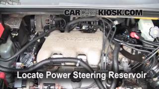 Follow These Steps to Add Power Steering Fluid to a Buick Rendezvous (2002-2007)